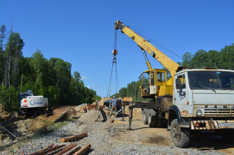 Наш курс — на развитие:Исполнение поручений губернатора:  возобновлено строительство дороги Мантурово — Нея