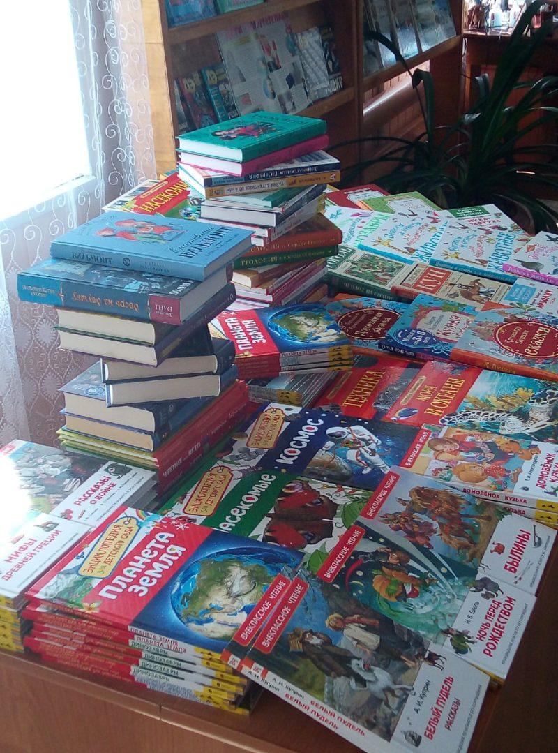 Вести ЦБС: 226 новых книг поступило в мантуровские библиотеки