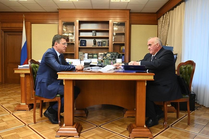 Сергей Ситников и Александр Новак обсудили перспективы дальнейшей газификации Костромской области