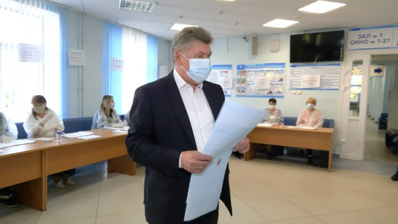 Свой выбор сделал руководитель регионального заксобрания Алексей Анохин