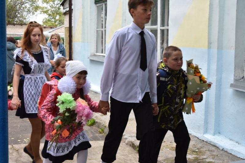 Школы городского округа встретили своих учеников