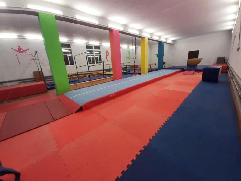 Наш курс — на развитие: Новая дорожка для гимнастов