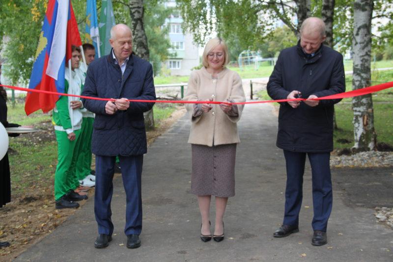 В Мантурово открылись первые объекты в рамках программы социально-экономического развития моногорода