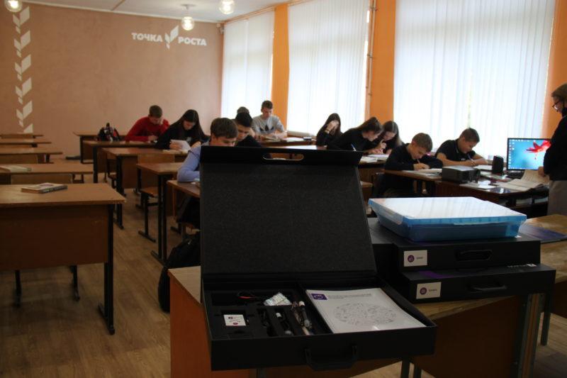 НП «Образование»: Поступило оборудование для «Точек роста»